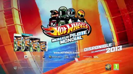 Trailer de Hot Wheels Meilleur Pilote Mondial