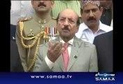 CM Sindh Qaim Ali Shah Slip Tongue Called Asif Ali Zardari Shaheed