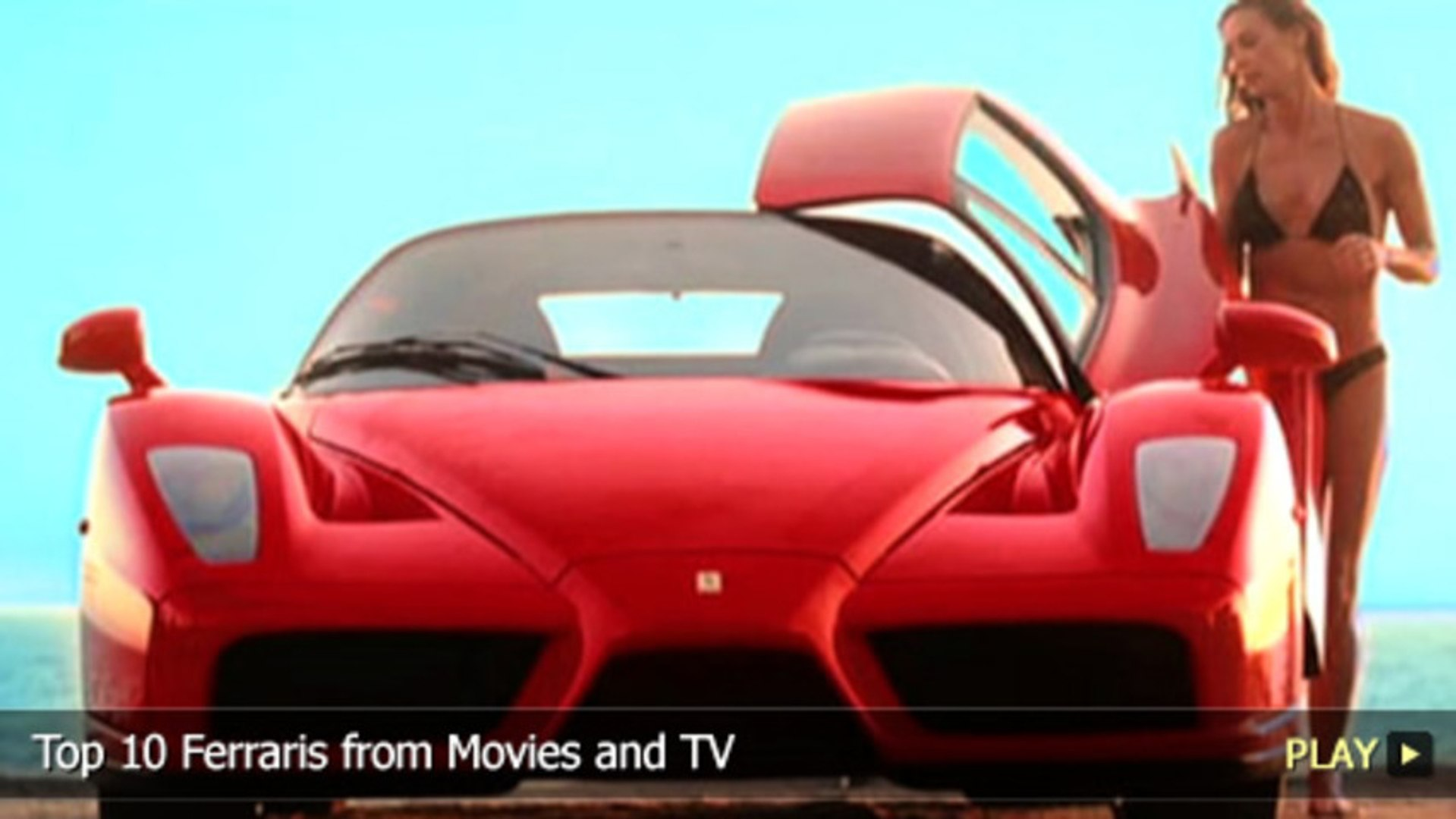Top 10 Ferraris from Movies and TV