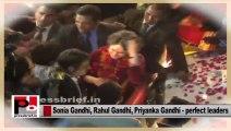 Charismatic Congress leaders -- Sonia Gandhi, Rahul Gandhi and Priyanka Gandhi