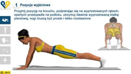Leg Pull Down (Równomierne unoszenie nogi)