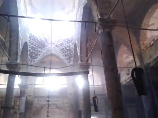 Vidéo de l'Eglise Copte El Amir Tadros incendiée et saccagée par les islamistes à El Minya
