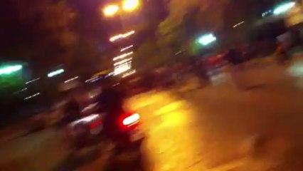 Πινάκιο (pinakio.blogspot.gr) Τρόλεϊ - διαμαρτυρία Περιστέρι - Ακινητοποίησαν τρόλεϊ