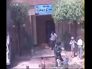 Attaque brutale de l'église de St. George à Sohag par les islamistes le 14.08.2013