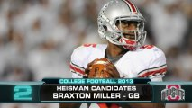Preseason Top Five Heisman Candidates
