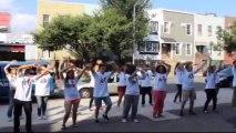 The Spoony Mania - Flash Mob Colo Canada USA 2013