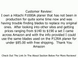 Hitachi 972011 12-Inch Planer Blade Set for P12RA Planer/Jointer Review