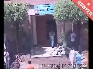 Destruction de l'église Saint Georges à Sohag, en Égypte