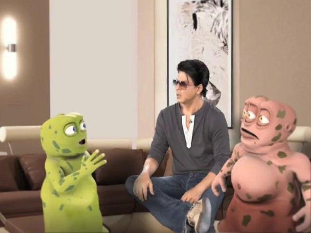 Shahrukh Khan says Bakwaas Band Kar Part-II
