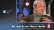 """Décès de Jacques Vergès : les coups d'éclat de """"l'avocat du diable"""" à la TV"""