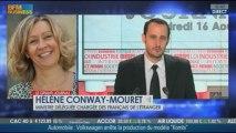 Hélène Conway-Mouret, ministre déléguée chargée des Français de l'étranger dans Le Grand Journal - 16/08 3/6