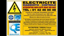 PARIS 14eme - 15eme - URGENCE ELECTRICITE - TEL: 0142460048 - DEPANNAGE 24H/24 7J/7 - ARTISAN ELECTRICIEN AGREE HAUTEMENT QUALIFIE