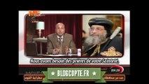 Interview traduite en français du Pape Tawadros II accordée à la chaîne de TV MeSat  concernant les attaques contre les églises