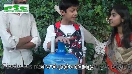 mini Biogas Generator by anaerobic digestion