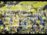 Online Rugby Biarritz vs Clermont
