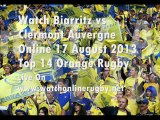 Watch Biarritz vs Clermont Live Rugby