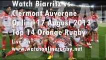 See Online Biarritz vs Clermont Rugby