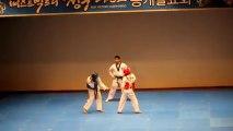 Une démo de taekwondo qui tourne en ballet de danse!! Trop bien fait!!