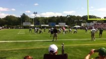 Tom Brady Injures Knee at Patriots Practice!! New England Patriots - NFL 2013