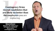 Retained Search Firms vs. Contingency Firms