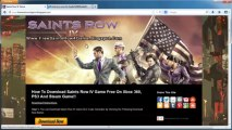Download Saints Row IV Game - Xbox 360 / PS3