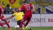 But Yoann GOURCUFF (48ème) - FC Sochaux-Montbéliard - Olympique Lyonnais (1-3) - 2013/2014