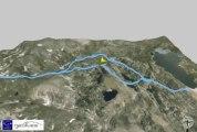 Profil Randonnée 3D Pic du Carlit (2921m) Pyrénées Orientales