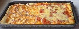 recette de cuisine - La pizza rouge et/ou blanche (recette facile) HD