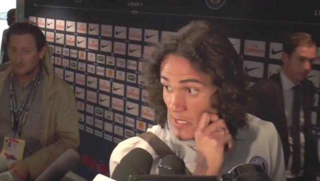PSG : Edinson Cavani évoque ses débuts au Parc des Princes