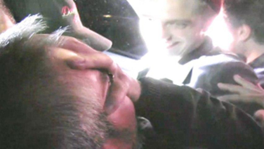 Robert Pattinson assaults his bodyguard