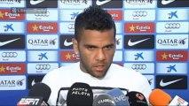 """Alves: """"Estamos recuperando cosas que habíamos perdido"""""""