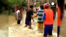 Çin'de sel felaketi: En az 74 ölü