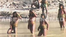Long isolated tribe in tense attempt at contact