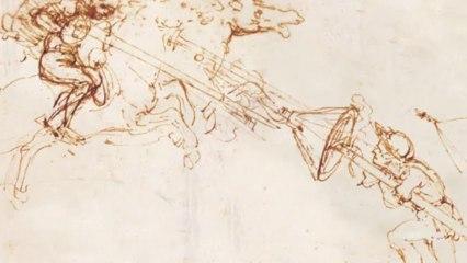 Leonardo da Vinci. The Universal Man, at the Gallerie dell'Accademia, Venice
