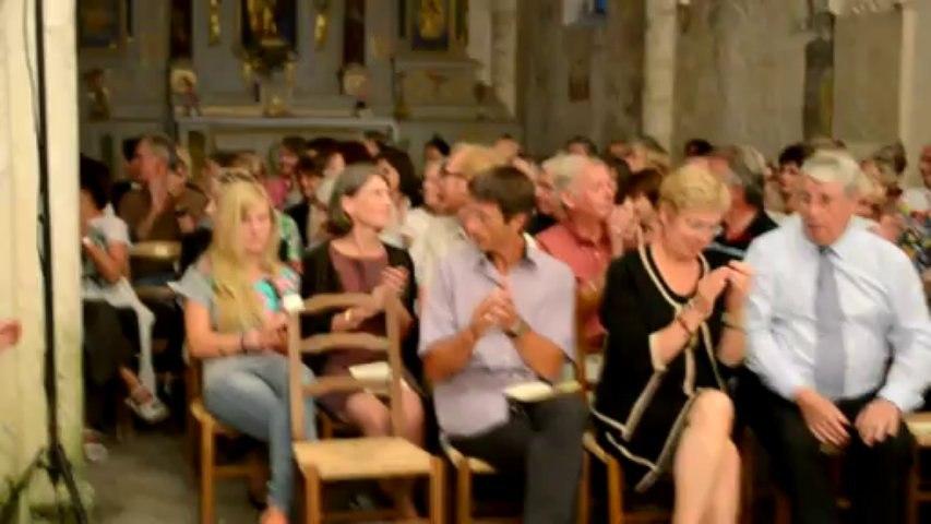 Concert à Saint-Estèphe discours Jean Bardoulat