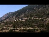Snow capped mountains and Garhwal villages: Ganges valley winters