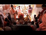 Puja at the Gangotri Temple: Invoking Goddess Ganga