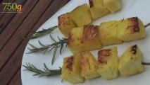 Recette d'Ananas au romarin à la plancha - 750 Grammes