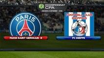 Direct PSG : PSG (b) - FC Dieppe (21/09/2013; 18h00)