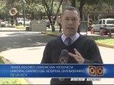 Trabajadores del Hospital Clínico Universitario denunciarán ante la Fiscalía agresiones contra compañero de labores