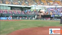 South Korean Actress Throws Incredible First Pitch at Baseball Game