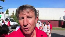 Interview d'avant match Biarritz - Montpellier (côté Biarrots)