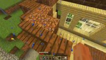 Minecraft Family Ep. 38 Roofs Are A Pain in The! Family Power :D