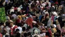 Allahabad maha kumbh mela- top angle shorts