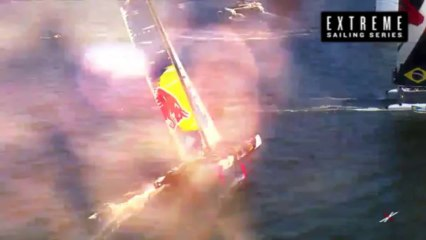 Live Cardiff: Day Three - Extreme Sailing Series