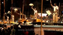 Varanasi-Allahabad kumbh mela-Arti shot-hdc-tape-7-5