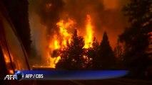 Etats-Unis: incendie aux abords du parc de Yosemite