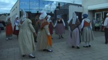 Exposition sur les traditions Normandes au musée des sapeurs pompiers de Montville :Danse traditionnelle 3