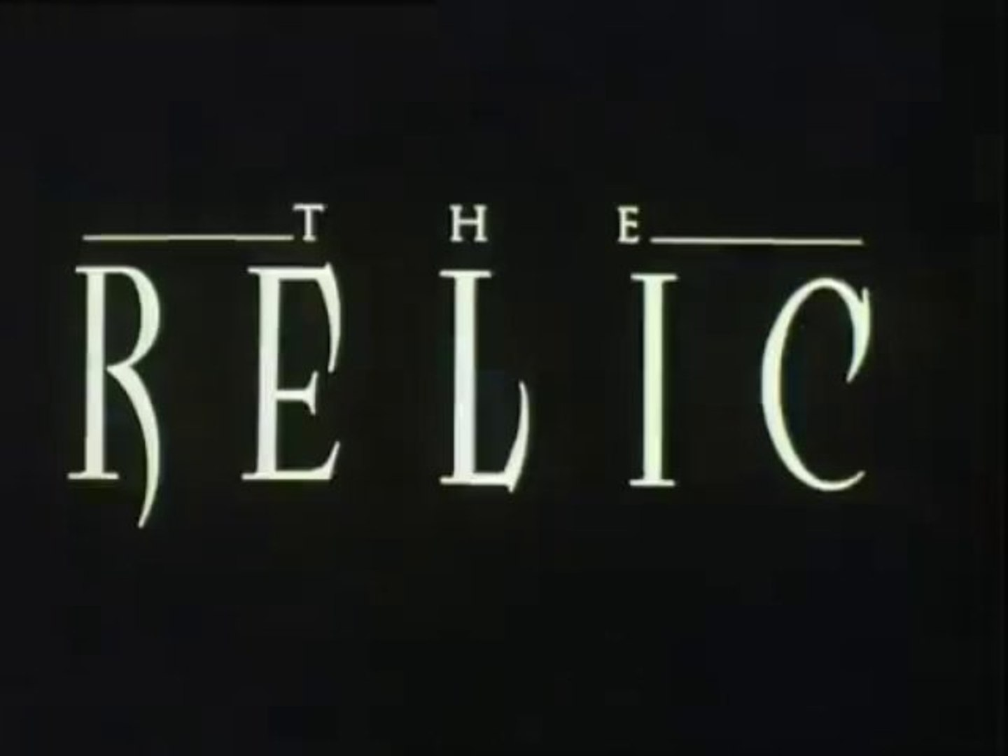 ▶ The Relic Trailer 1997 - YouTube_1