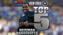 2013 Heisman Trophy: Top 5 Candidates To Take Home Honor